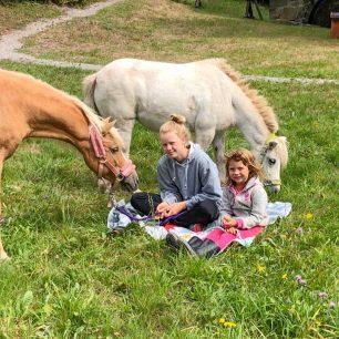 Ponyreiten auf dem Vogtadeshof